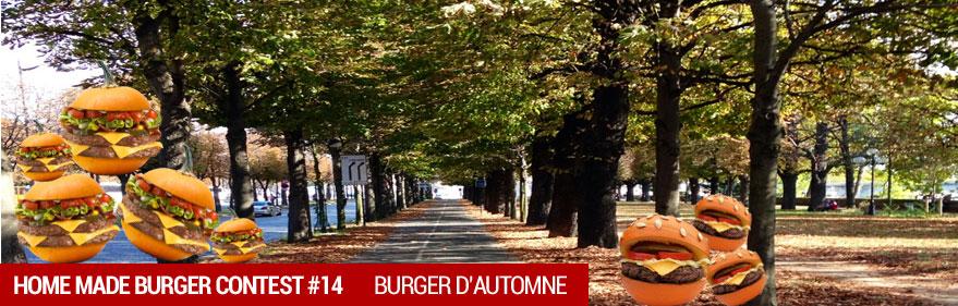 Concours du moment : HOMEMADE BURGER 14 - Burger d'Automne