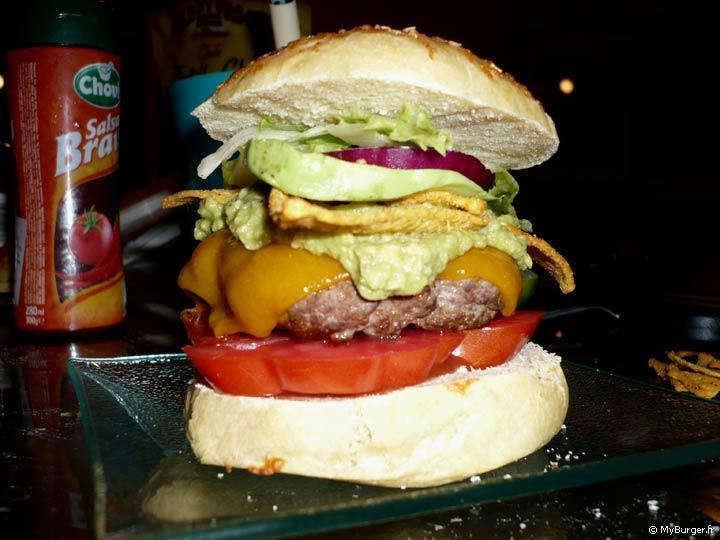 photos de el nacho libre burger maison recette par lefol. Black Bedroom Furniture Sets. Home Design Ideas