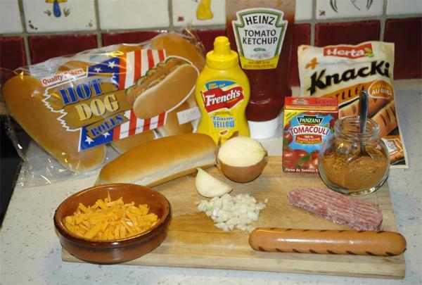 photos de hot chili dog burger maison recette par junk food boy. Black Bedroom Furniture Sets. Home Design Ideas