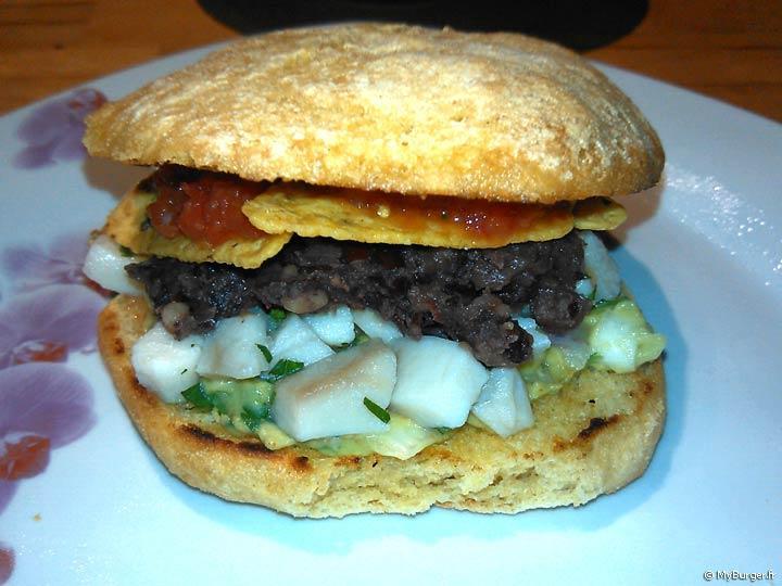 Recette du el mexican burger maison recette avis test - Recette hamburger maison ...
