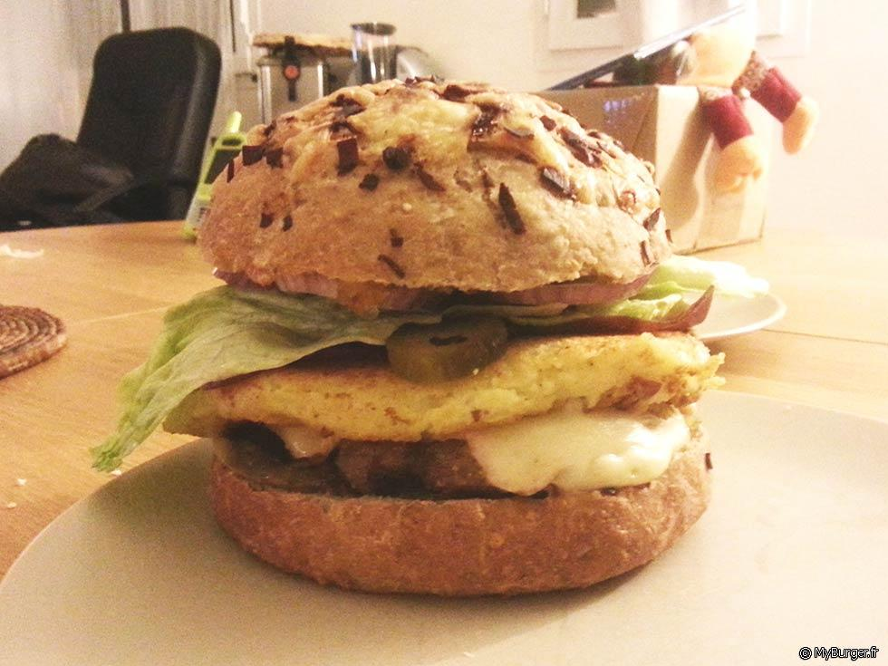 Photos de bcheron burger maison recette par sorane - Recette hamburger maison ...