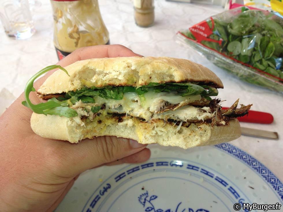 photos de sardine burger burger maison recette par michaek. Black Bedroom Furniture Sets. Home Design Ideas