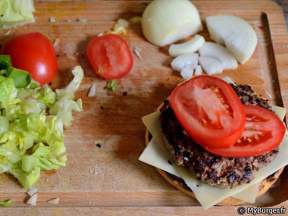 photos de homemade big tasty burger maison recette par. Black Bedroom Furniture Sets. Home Design Ideas