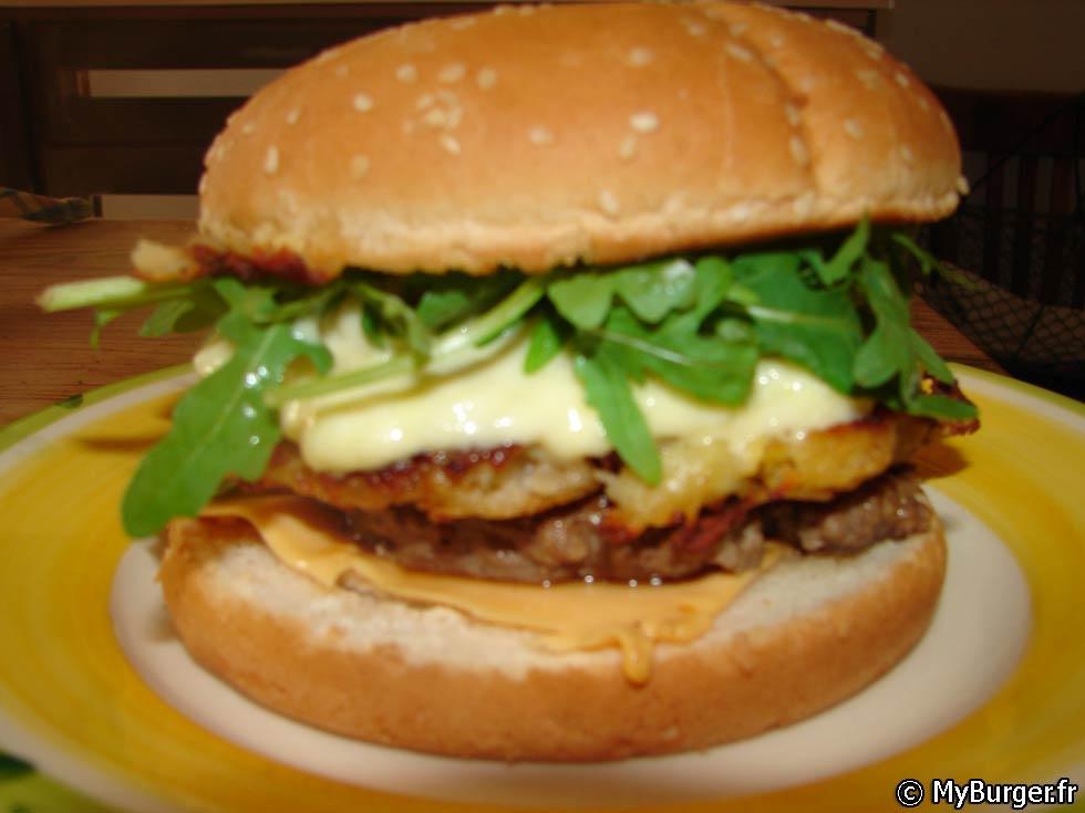 Recette du nyu burger burger maison recette avis test - Recette hamburger maison ...