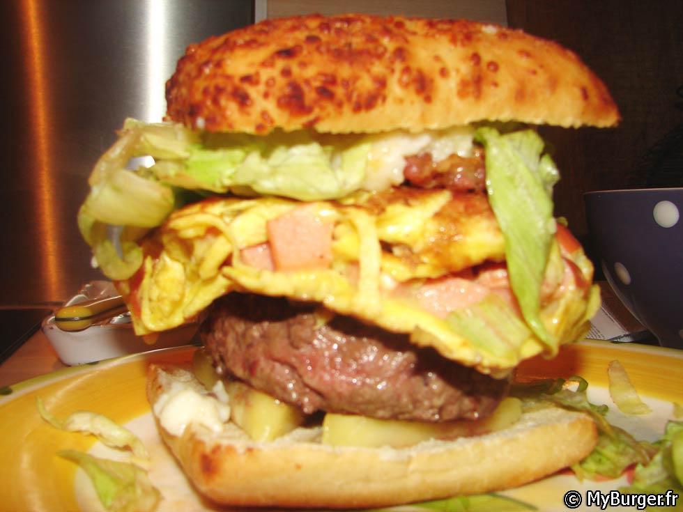 photos de loodie burger burger maison recette par. Black Bedroom Furniture Sets. Home Design Ideas