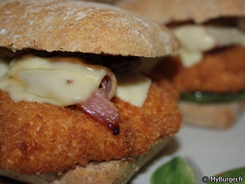 photos de sweet chicken burger burger maison recette. Black Bedroom Furniture Sets. Home Design Ideas