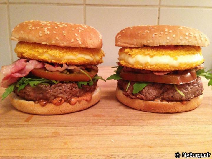 photos de babyburger burger maison recette par. Black Bedroom Furniture Sets. Home Design Ideas