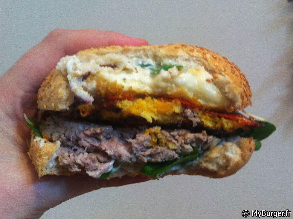 photos de listopadovy burger burger maison recette par. Black Bedroom Furniture Sets. Home Design Ideas