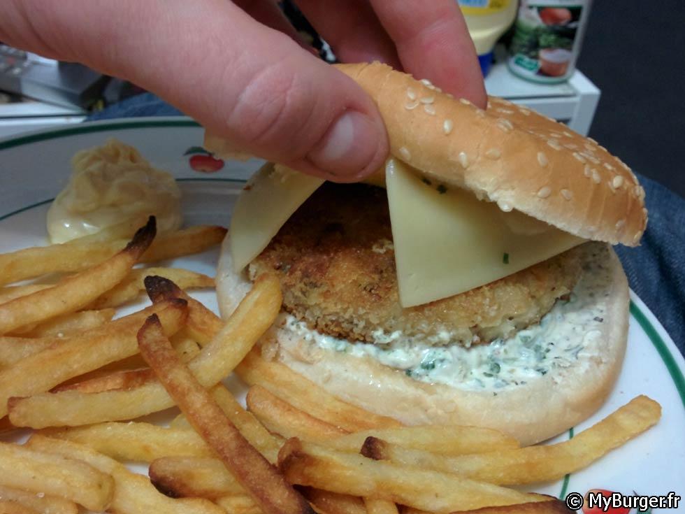 Recette du croustillant de carrelet burger maison recette avis test - Recette hamburger maison ...