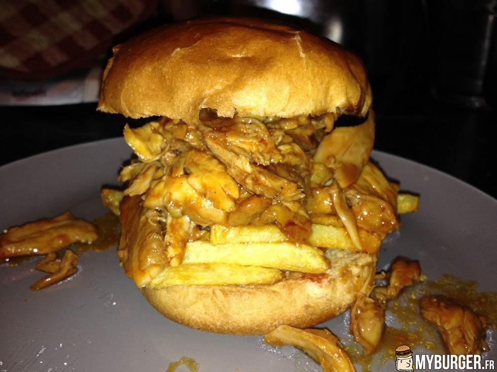 photos de pulled chicken sat burger burger maison. Black Bedroom Furniture Sets. Home Design Ideas