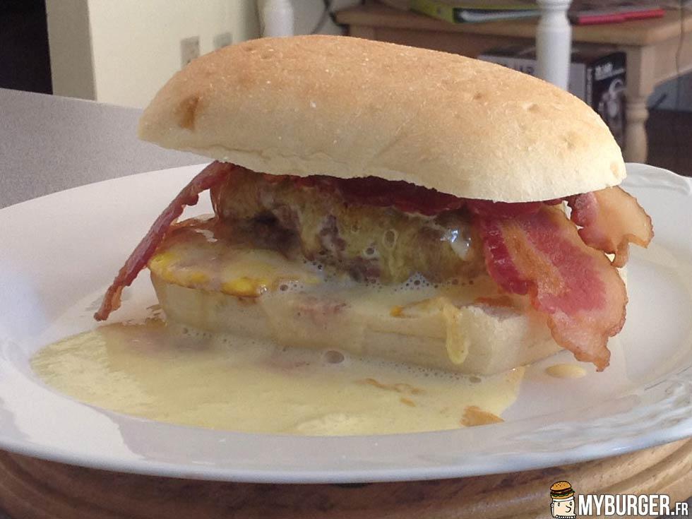 photos de hangover cure burger burger maison recette. Black Bedroom Furniture Sets. Home Design Ideas