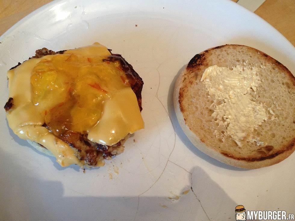 Photos de marmelade burger maison recette par professeur poutraque - Recette hamburger maison ...