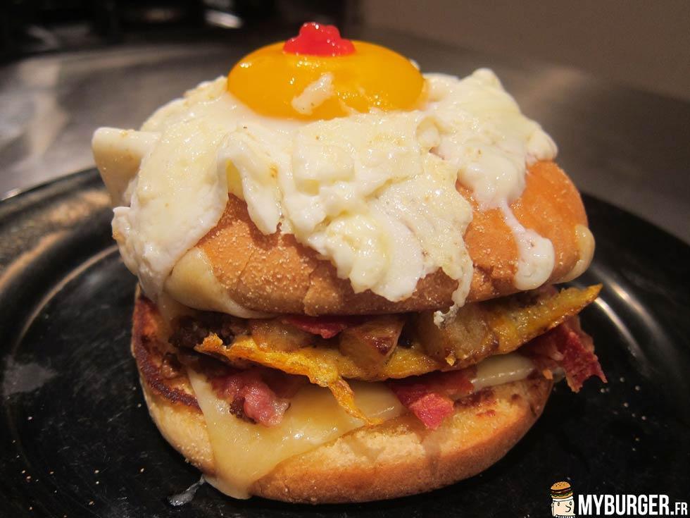 Recettes de burger boeuf - Recette hamburger maison ...