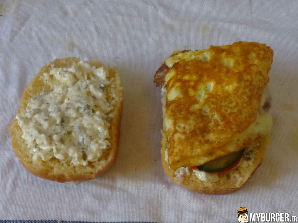 Photos de kahvalti burger burger maison recette par - Recette hamburger maison ...