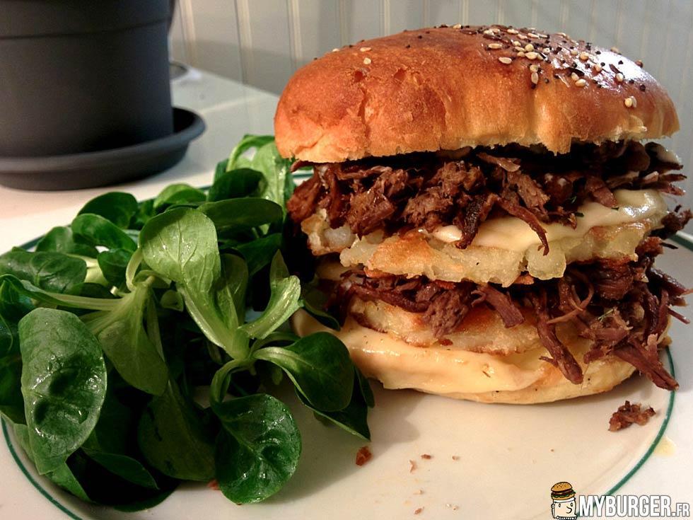 photos de burger l 39 effiloch d 39 agneau de lait burger. Black Bedroom Furniture Sets. Home Design Ideas