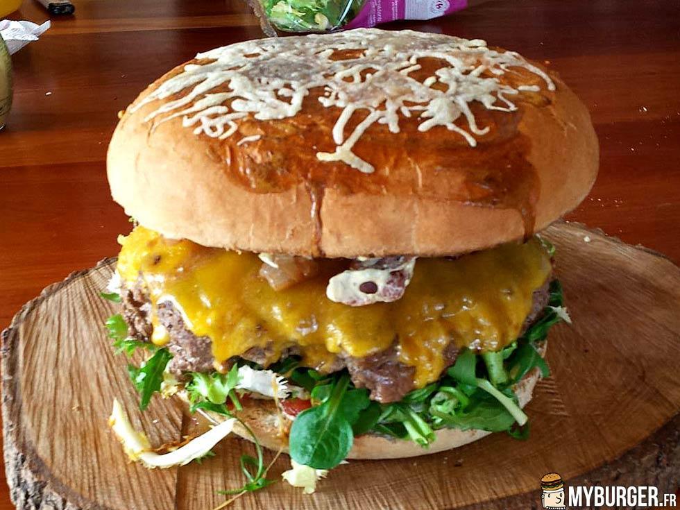 photos de burgzilla burger maison recette par eodias. Black Bedroom Furniture Sets. Home Design Ideas
