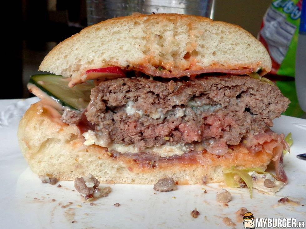 photos de ratatouille burger burger maison recette par. Black Bedroom Furniture Sets. Home Design Ideas