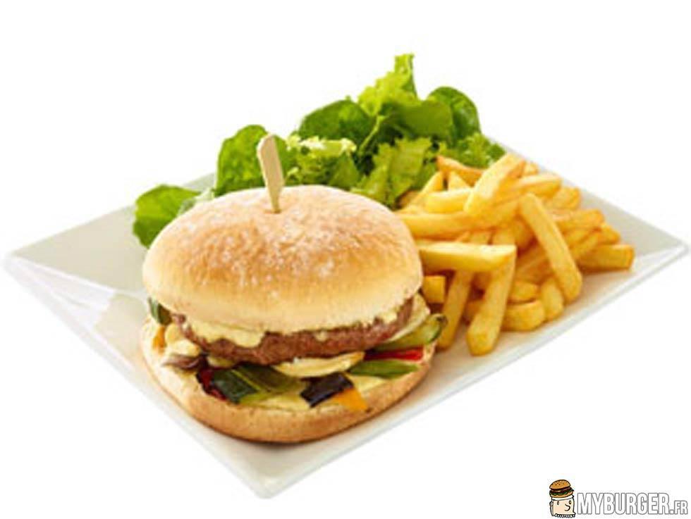 photos de gourmet burger ch vre miel flunch par edwarner. Black Bedroom Furniture Sets. Home Design Ideas