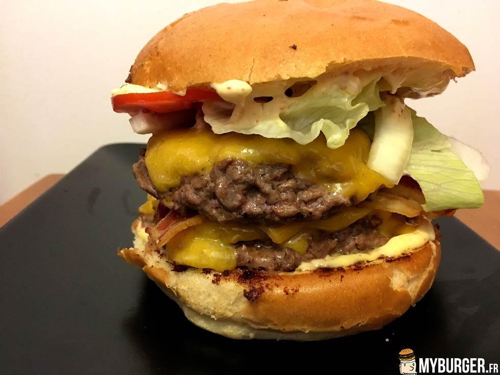 photos de classic 10 burger maison recette par py. Black Bedroom Furniture Sets. Home Design Ideas