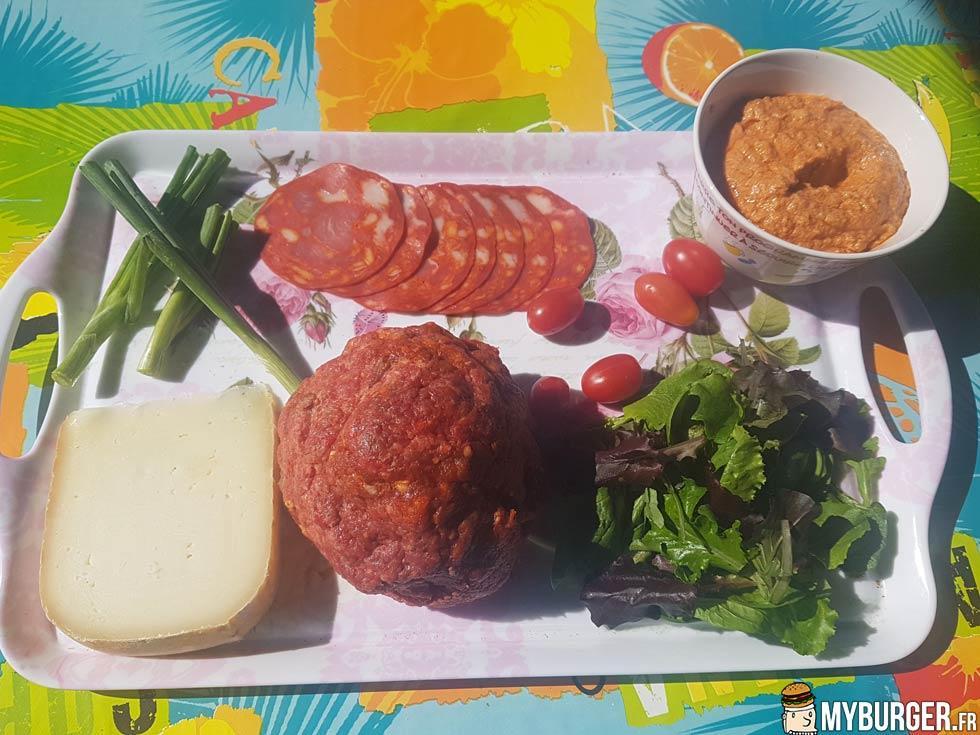 Photos de new corrida burger maison recette par - Recette hamburger maison ...