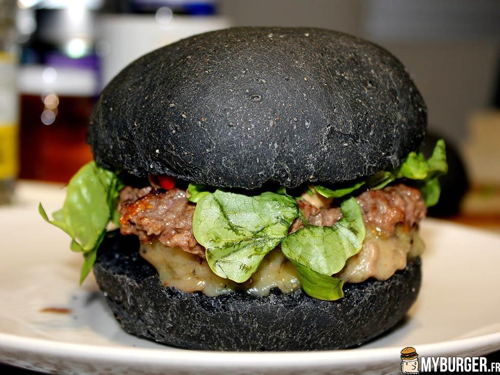 recette du darth vader burger burger maison recette. Black Bedroom Furniture Sets. Home Design Ideas