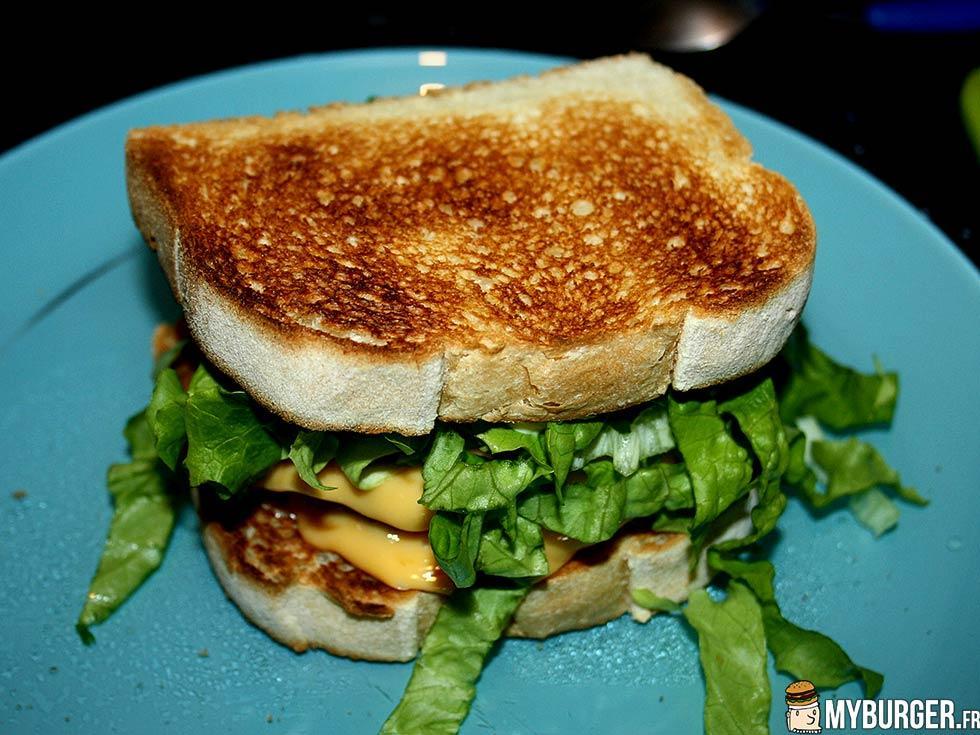 Recette du giantn toast burger maison recette avis - Recette hamburger maison ...