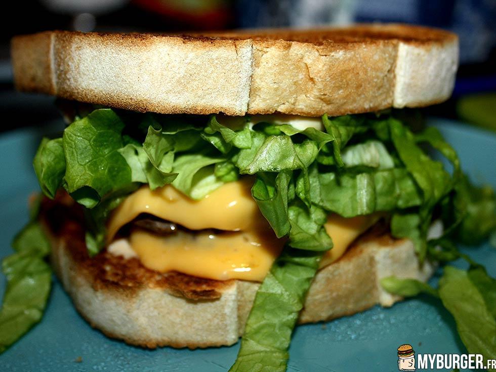 Photos de giantn toast burger maison recette par michaek - Recette hamburger maison ...