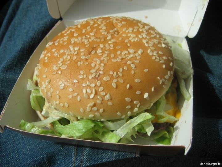 Favori Chronique du Royal Deluxe (McDonald's) Avis Test - MyBurger.fr TY16