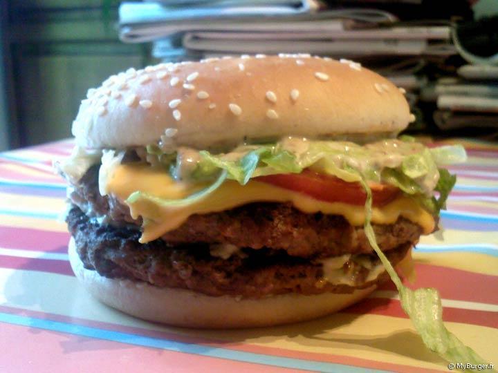 Favori Chronique du Double Royal Deluxe Customisé (McDonald's) Avis Test  TY16