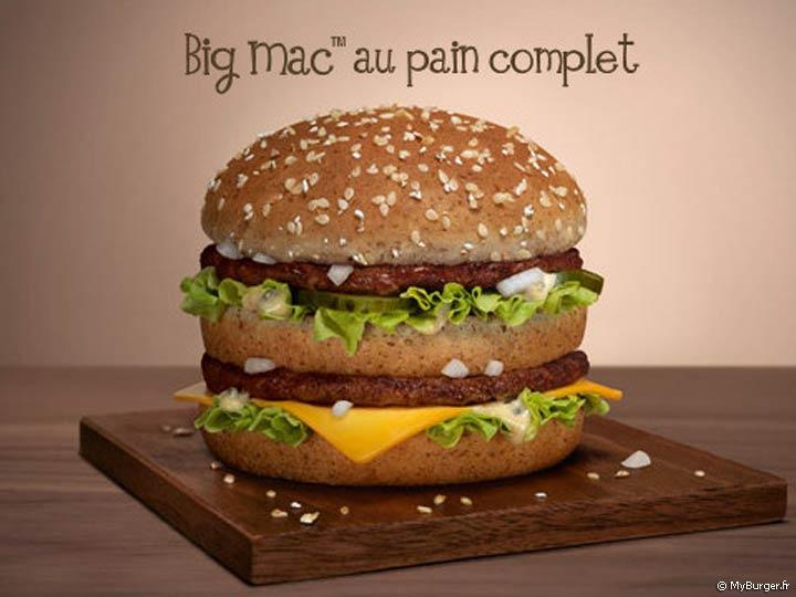 Big Mac au Pain Complet de McDonald's
