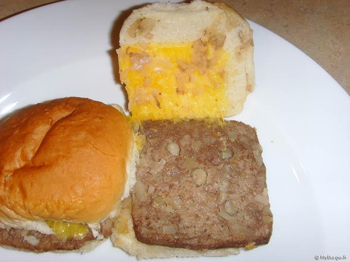 Microwaveable Cheeseburger de White Castle de Supermarch�s