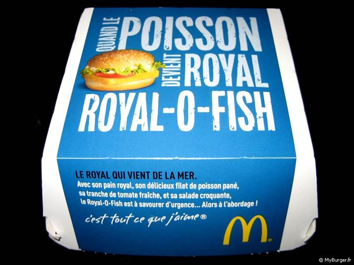 Royal-O-Fish sauce Tartare de McDonald's