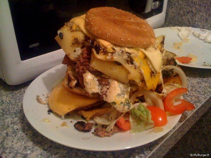 Recette du ze kill gram 39 burger maison recette avis test - Recette hamburger maison ...