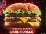 Dark Burger de Quick