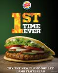 Lamb Flatbread de Burger King