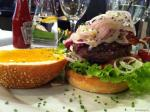 Bacon Cheeseburger du Livingstone New York Steakhouse de Restaurants