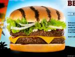 BBQ Beach Burger de Quick