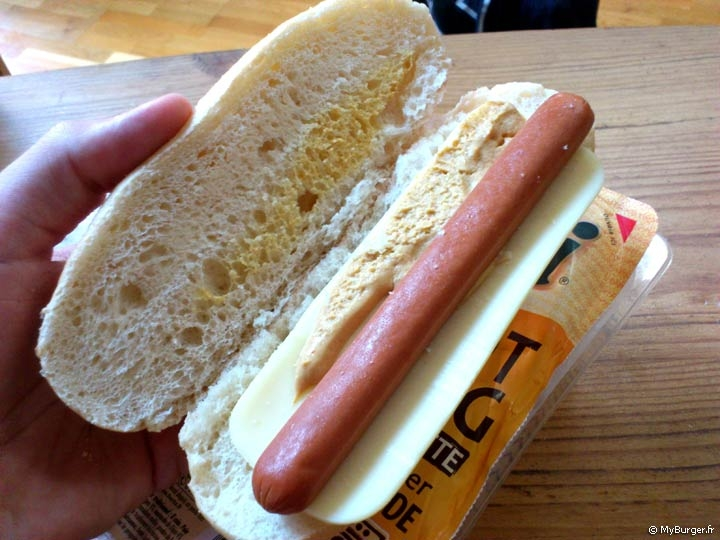 Recette hot dog knacki
