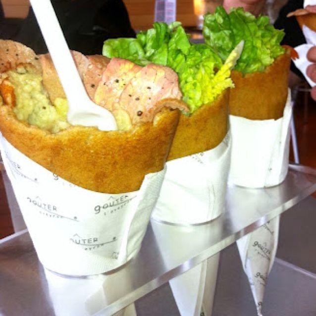 Le capucin de michel bras du fast cook autre nourriture for Cuisinier bras