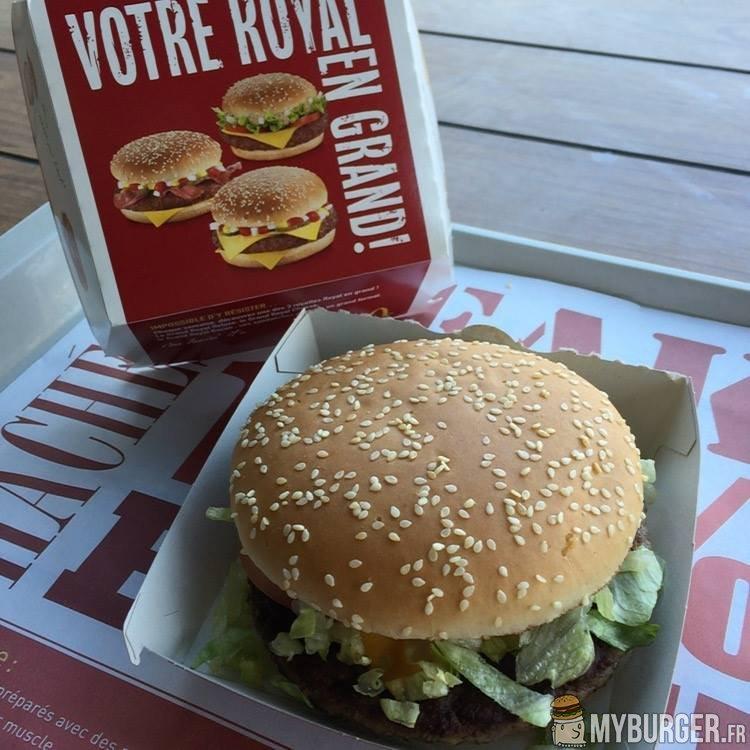 Préférence Chronique du Grand Royal Deluxe (McDonald's) Avis Test - MyBurger.fr BT68