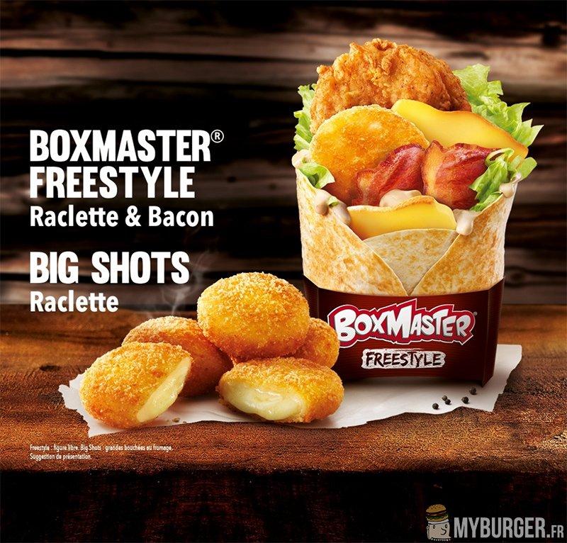 KFC Fr Boxmaster Freestyle - Big Shots : Les Burgers