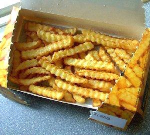 Les cahiers du burger frites micro ondes delhaize - Frite au micro onde ...